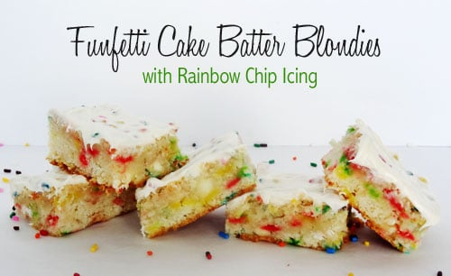 Recipes using funfetti cake