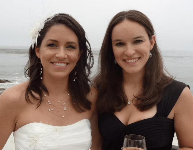 image of Lindsay and bride