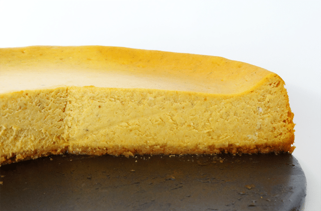 Pumpkin Cheesecake recipe for Thanksgiving