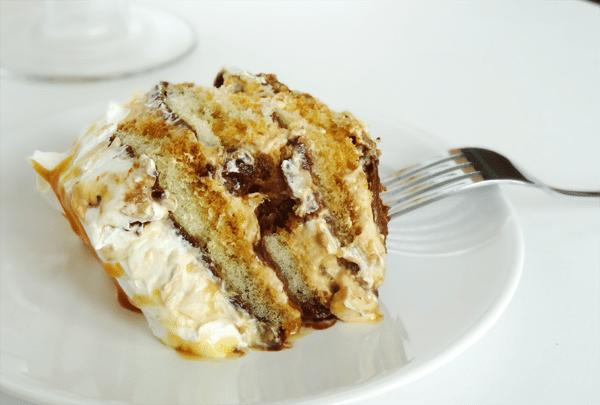 Caramel Macchiato Tiramisu with Nutella