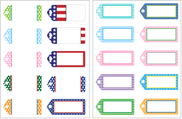 Free printable tags for Cake in a Sealed Jar