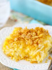 image of Cheesy Hashbrown Casserole