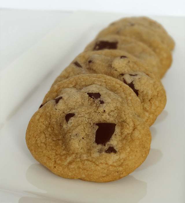 Chocolate Chip Cookie Throw Down - Cook's Illustrated perfect chocolate chip cookie