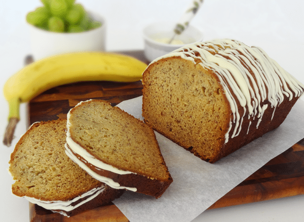 Super Moist Banana Bread - with pudding mix!
