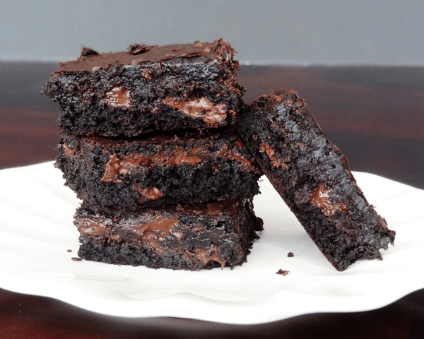 Moist and Chewy Brownies - Life Love and Sugar
