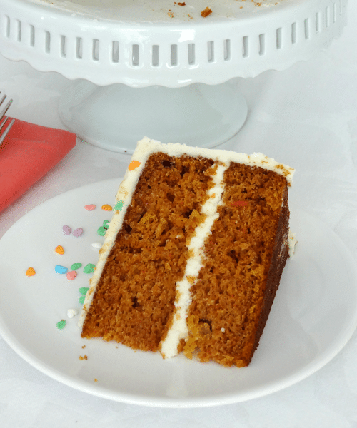 Carrot Cake With Pineapple Recipe