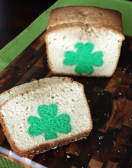 Image of St. Patrick's Day Peek A Boo Pound Cake