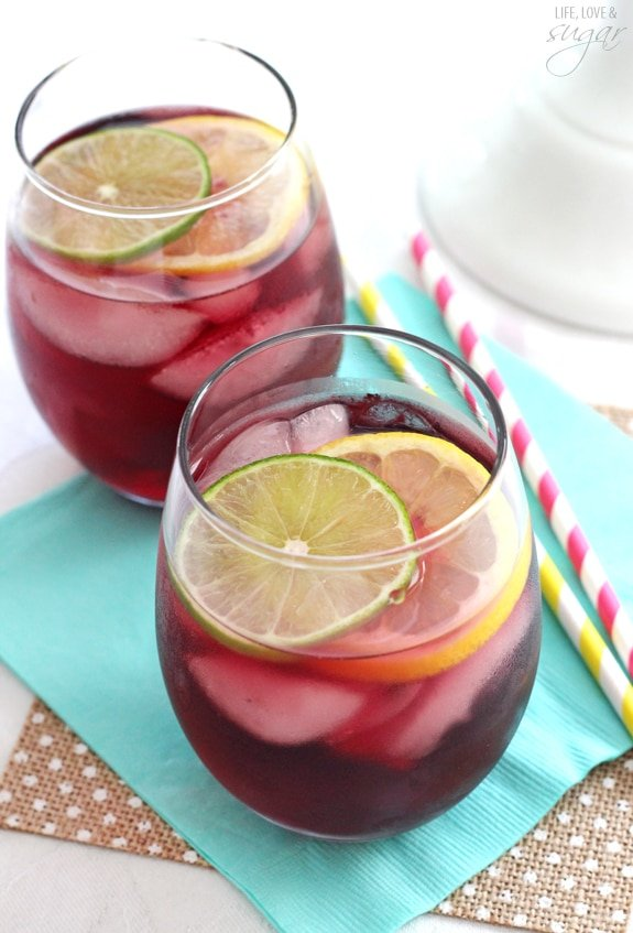 Classic Red Wine Sangria! So easy to make and refreshing!