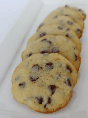 Bake your Day Cookies on white plate