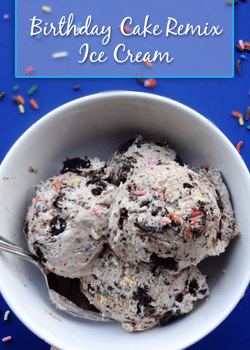 Copycat Birthday Cake Remix Ice Cream no machine Life Love
