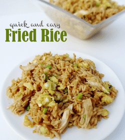 Image of Quick and Easy Chicken Fried Rice