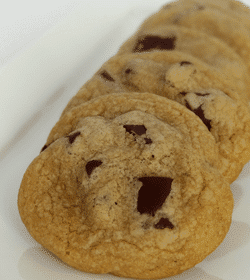 Cook's Illustrated Perfect Chocolate Chip Cookie on white plate