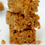 Double Pumpkin Butterscotch Rice Krispie Treats