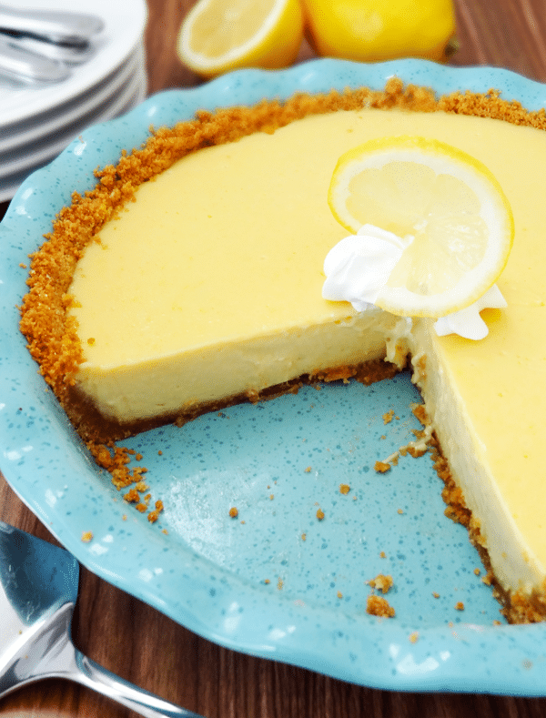 Lemon Icebox Pie A Delicious And Simple Lemon Pie Recipe