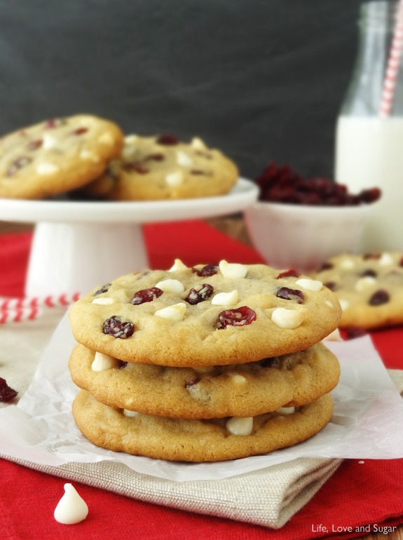 Recipe For Cranberry White Chocolate Chip Cookies