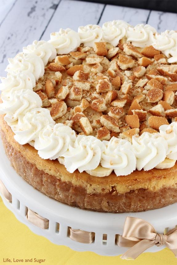 Easy banana cheese cake recipe