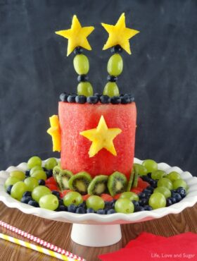 Image of an All Fruit Party Cake