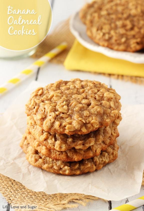 Baby Food Oatmeal Cookies