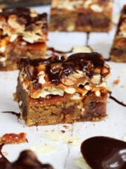 Bacon, Beer and Potato Chip Cookie Bars