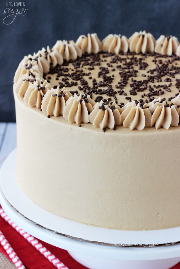 Caramel Mocha Chocolate Cake Life Love And Sugar