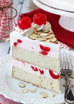 Cherry_Almond_Amaretto_Ice_Cream_Cake-featured