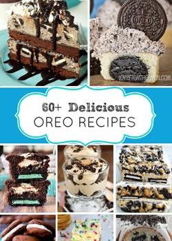 60 Delicious Oreo Recipes Collage