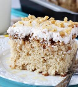 Image of Baklava Poke Cake