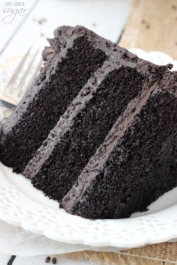 Easy Moist Chocolate Cake Life Love And Sugar