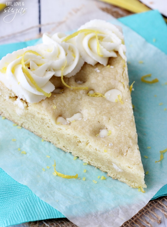 Lemon Cookie Cake