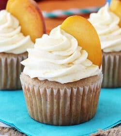 Picture of Peach Pie Cupcakes