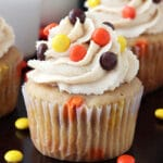 Triple Peanut Butter Cupcakes