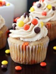 Triple Peanut Butter Cupcake