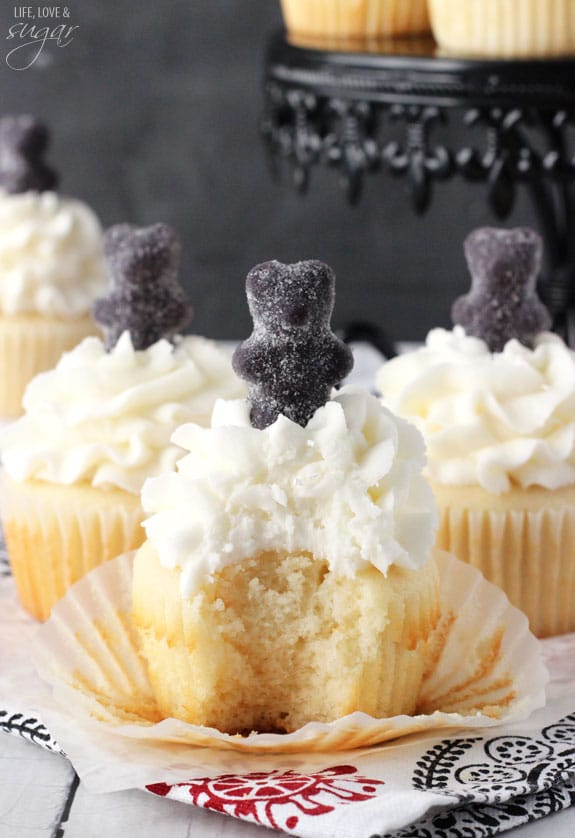 Anise Licorice Cupcakes