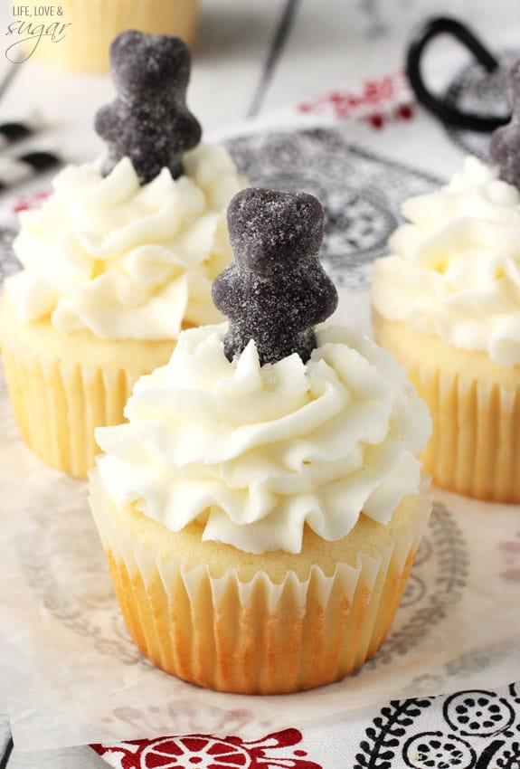 Anise Licorice Cupcakes