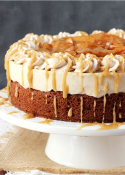 ... caramel apple blondie cheesecake is pure caramel apple heaven i