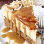 Caramel Apple Blondie Cheesecake
