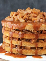 Image of a Caramel Apple Layer Cake