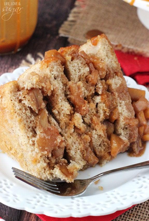 Caramel Apple Layer Cake! So good!