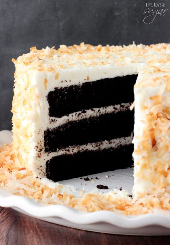 Chocolate Coconut Cake Life Love And Sugar