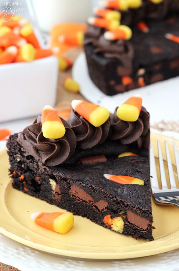 Candy Corn Chocolate Chip Cookie Cake Life Love And Sugar