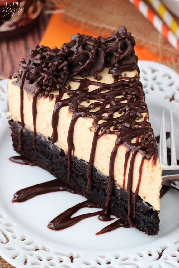print pumpkin chocolate brownie cheesecake yield 9 inch cheesecake ...