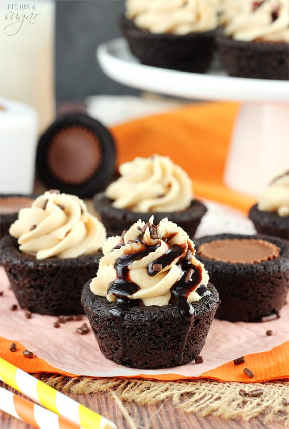 Reeses Peanut Butter Chocolate Cookie Cups