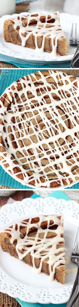 Giant Cinnamon Roll Cookie Cake!