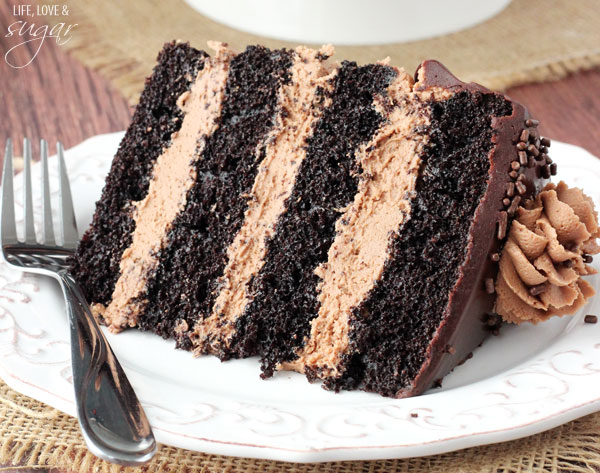 The Best Chocolate Fudge Cake Recipe