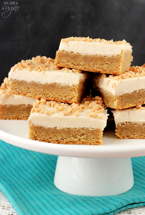 Frosted Maple Cookie Bars