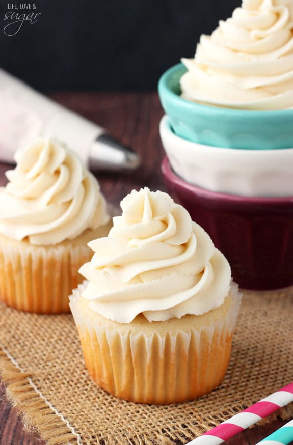 Vanilla Buttercream Icing - not your typical buttercream, so..