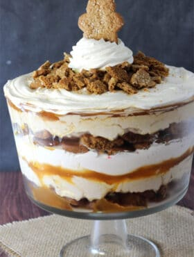 Image of Gingerbread Cheesecake Trifle