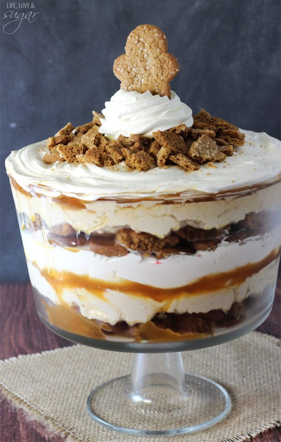 Gingerbread Cheesecake Trifle Life Love And Sugar