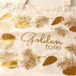 Golden Tote tote bag