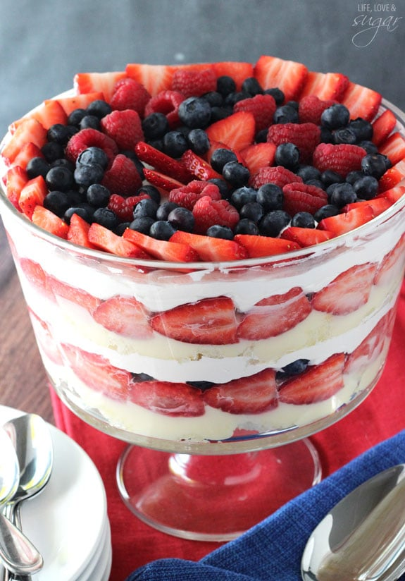 Triple Berry Trifle Life Love And Sugar